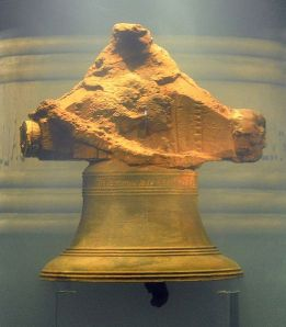 The proof the wreck was the Whydah: its bell (credit: Wikipedia/jjsala)