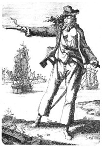 Anne Bonny, depicted by someone with a lot of imagination and little sense