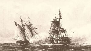 The USS Enterprise vs. the corsair Tripoli, August 1, 1801