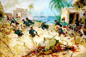 The American attack on Derna