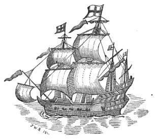 A 17th century East Indiaman