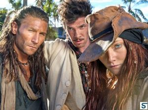 On Black Sails, Vane is a violent man, Rackam a sort of 18th c. pirate PR man, and Bonny is a psycho-killer