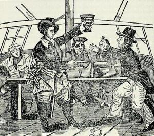 Maybe his lesser share as captain explains why John Phillips once forced a man to drink at gunpoint