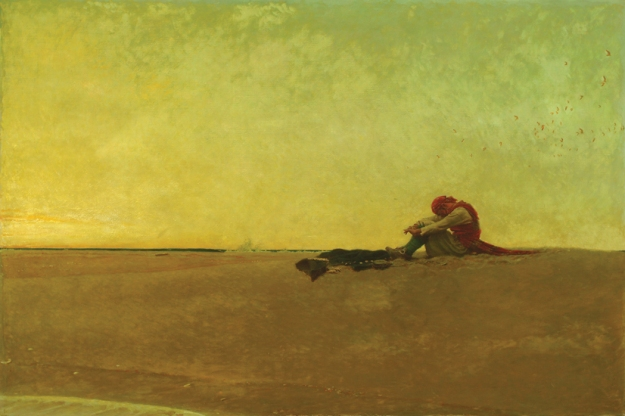 Marooned (1909) by Howard Pyle (1853 - 1911)