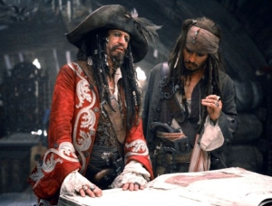 "In the third ""Pirates of the Caribbean"" film, Keith Richards gets to play the keeper of the pirate code"