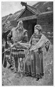 Gudrun greets her husband's slayers with a smile, but she'll get her revenge!