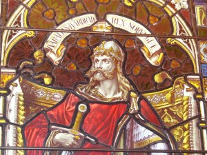 A glorified portrait of Harald Hardrada (credit: Wikipedia/Colin Smith)